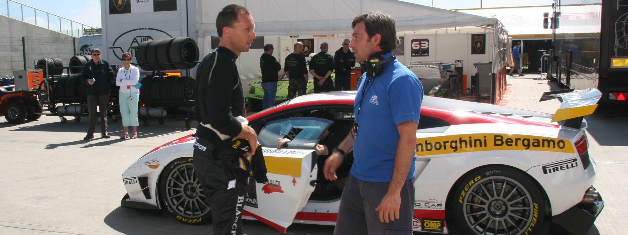 Race Driver Services - Lee Cunningham